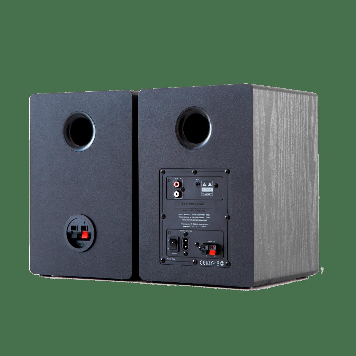 Thonet and Vander Kurbis BT Bluetooth Bookshelf Speakers 340 Peak Watts